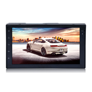 Touch screen Display Double DIN Android Car Stereo GPS Receiver With Bluetooth wifi