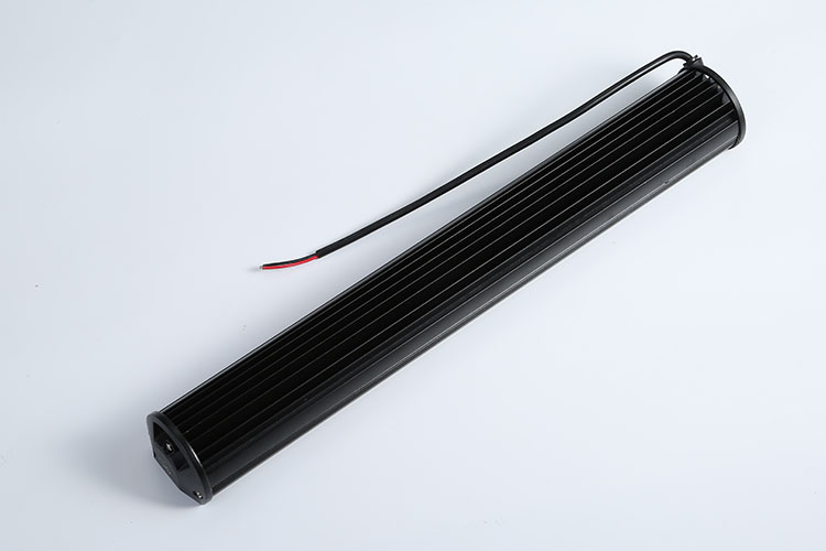 High power 57cm 144w 13600lm auto led light bar strobe combo driving lights off road led lamp bar