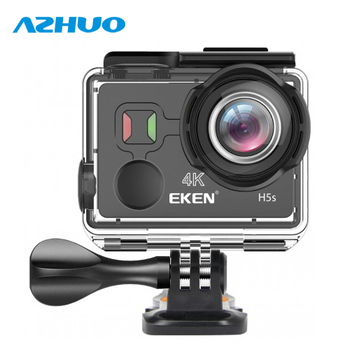 New Arrival EKEN H5s Action Camera 4K 30fps EIS Sports Camera 12MP Photo 170 Degree Wide Angle WiFi Control