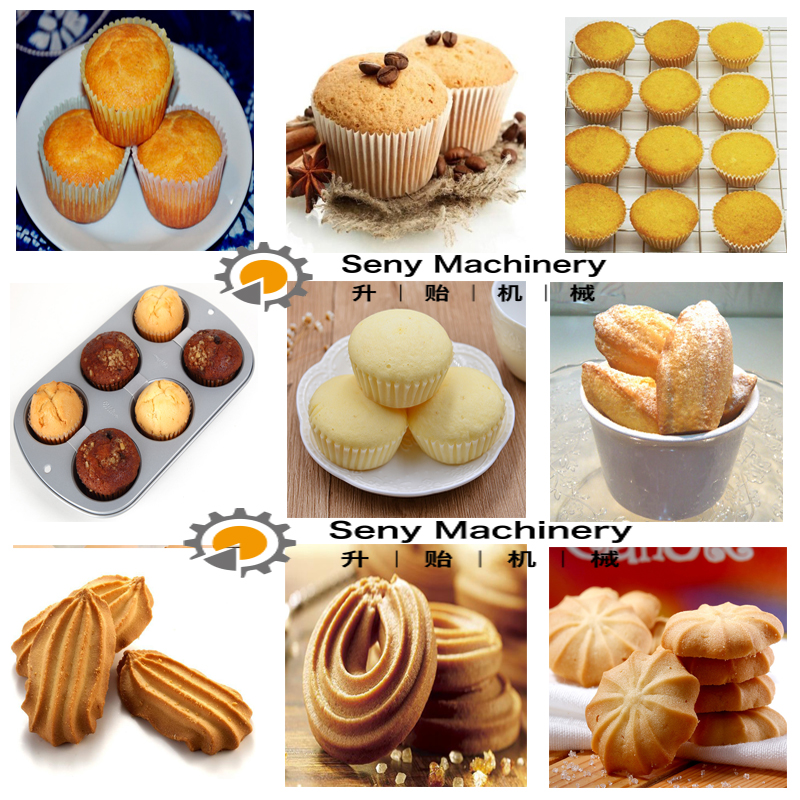 Automatic Industrial Electrical Muffin Cup Cake Maker