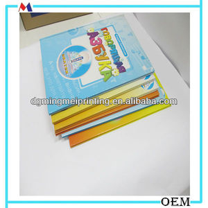 Chinese 4-6 years baby used books for animal recognizing education manufacture