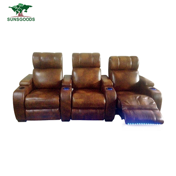 Latest Design Home Theater Seating Lazy Boy Chair Recliner Theatre Chairs