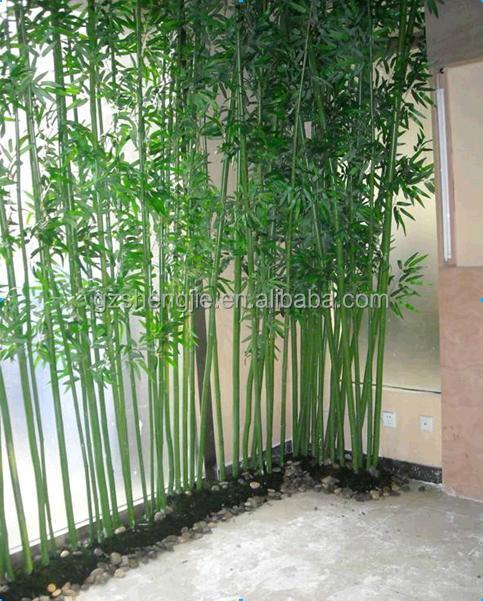 Postes de bamb de color verde para dise o de interiores decoraci n de bamb palo de bamb de - Bambu decoracion interior ...