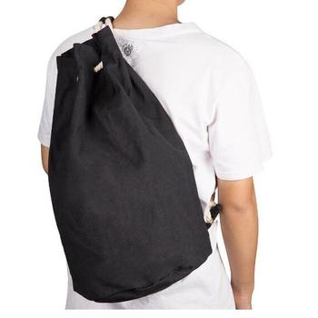 Hot Ing Gym Sack Bag Canvas Drawstring Backpack Sport