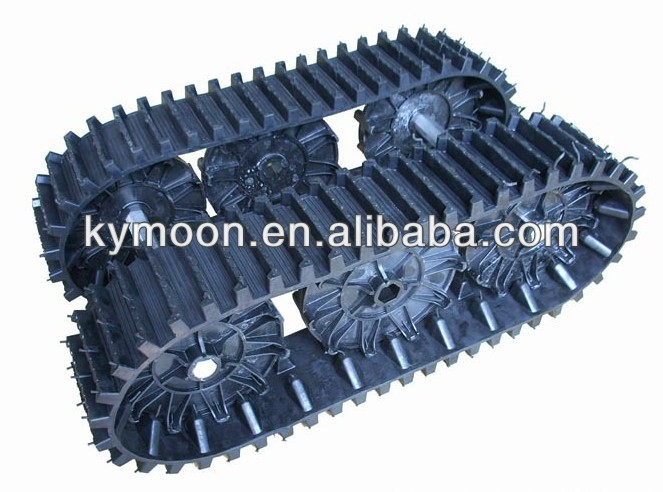 Snow vehicle Rubber Track for sale