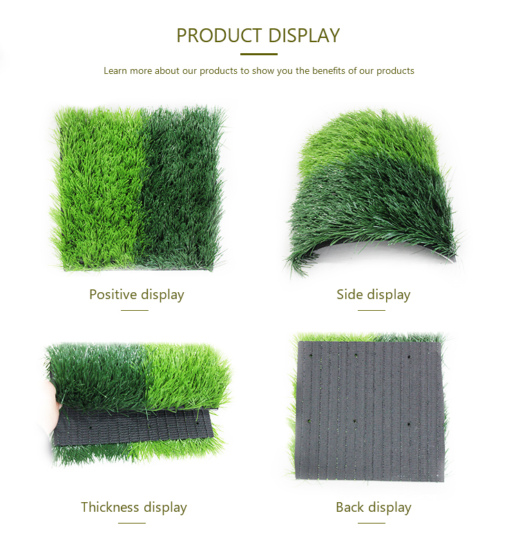Affordable artificial carpet synthetic lawn per square foot