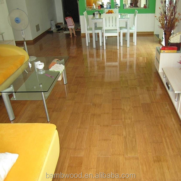 Pure Natural and Popullar Strand Woven Bamboo Floor Product