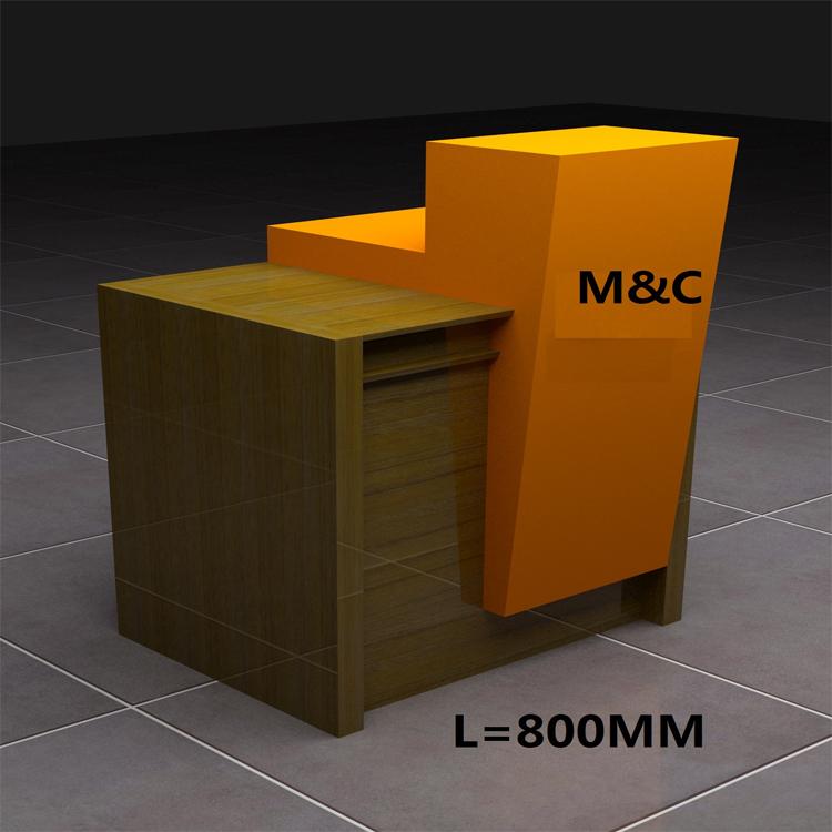 modern retail furniture. modern retail design wooden cloth shop counter table furniture cash