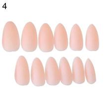 15 цветов, розовый, фиолетовый, матовый светильник для накладных ногтей, сиреневый цвет, матовые женские накладные ногти, квадратная отделка,...(Китай)