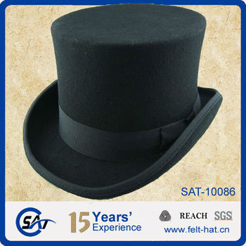 13efdd34329 6 quot  high crown Victorian Top hat with Satin lining