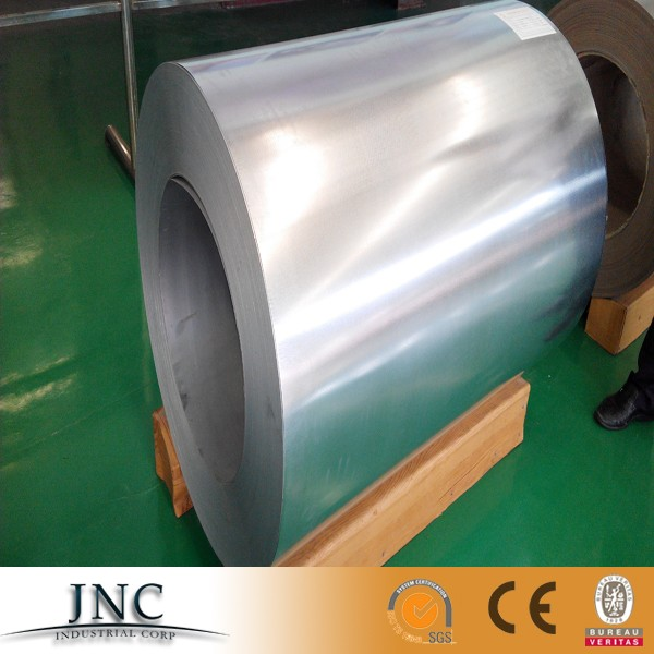 SPCC SPCD Q345b 1mm thick steel s355jrg2 mild iron zinc alum coated galvanized steel coil