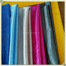 china supplier knit plain sportswear cloth 100% polyester shiny fabric