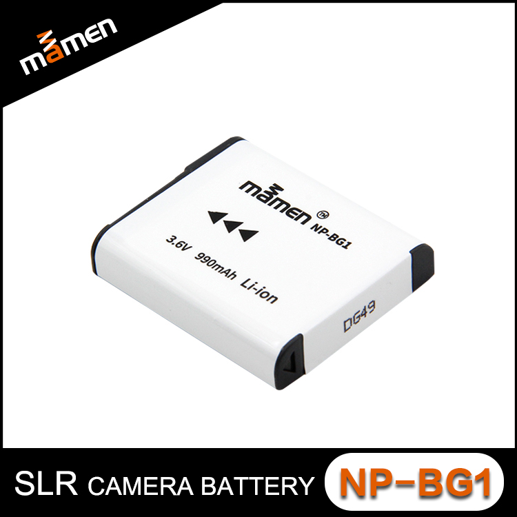 Hot Selling Factory Price Camera Battery NP-BG1 990mAh 3.6V Digital Battery Lithium Pack Replacement For Sony Digital Camera W22
