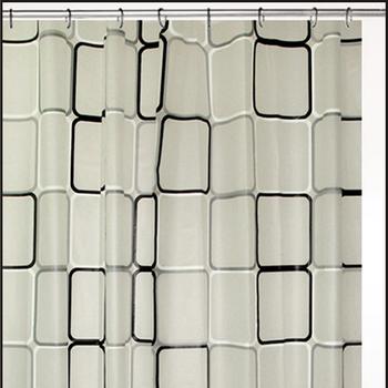 Cartoon Design PEVA Bathroom Kids Shower Curtains