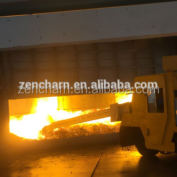 ferro alloy furnace from mineral ore melting using SUBMERGED arc furnace