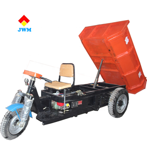 ZY180 electric tricycle for food deliver /2 ton cargo electric tricycle dumper