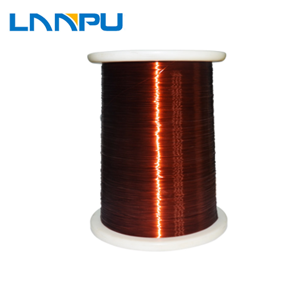 Ul Approved 4.06 To 0.091 Mm Winding H Class Round Enameled Copper ...