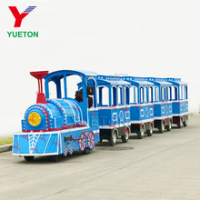 CE Children Ride Theme Park Amusements Rides Kids Electric Tourist Trackless Train