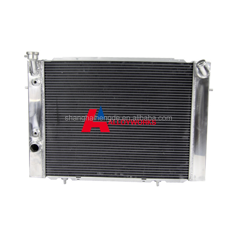 Racing 3core 52mm motorcycle aluminium parts coolant radiator replacement FOR Holden VB VC VH VK V8 79-85 AT/MT