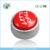 Custom plush toy round talking box with music promotional talking box