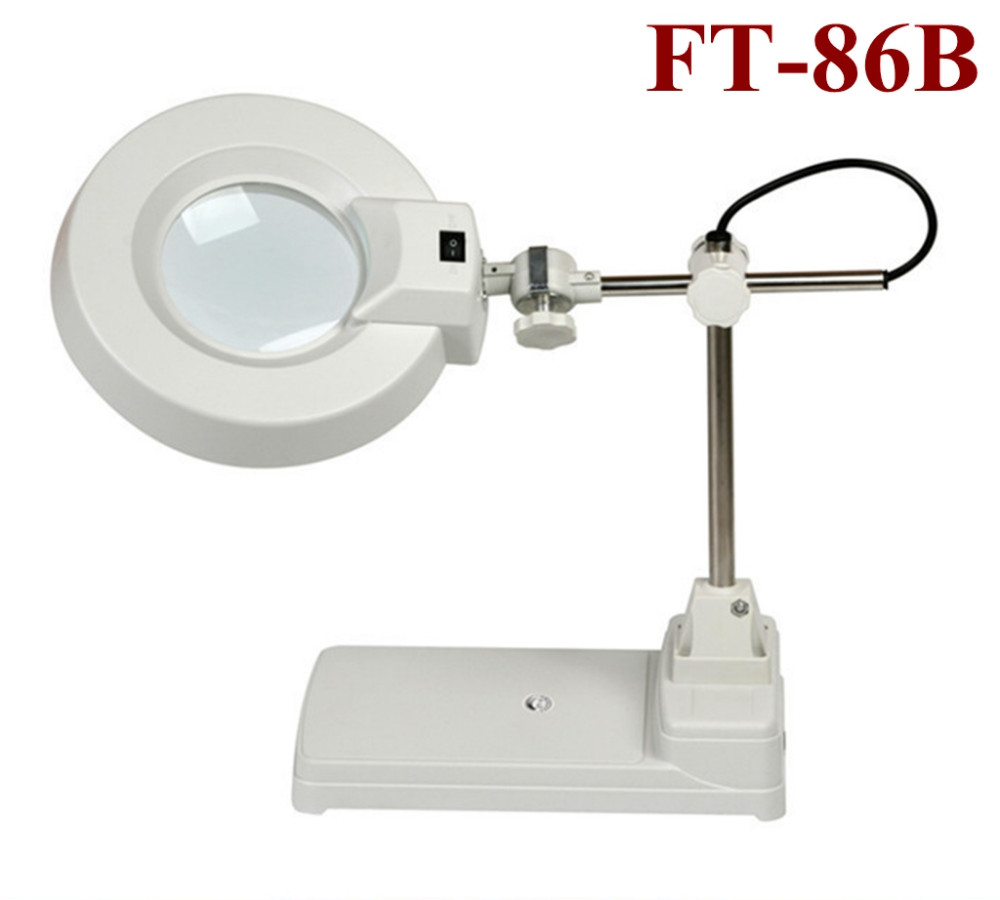 5x 8x 10x 15x Magnifying Lamp Glass Led Or Fluorescent