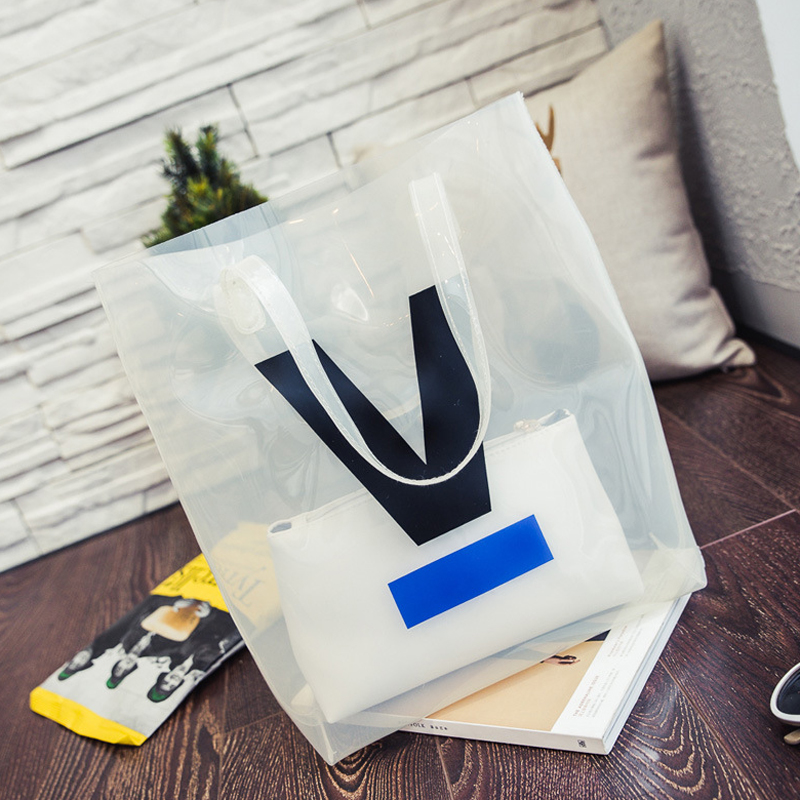Popular Clear Plastic Tote Bags-Buy Cheap Clear Plastic