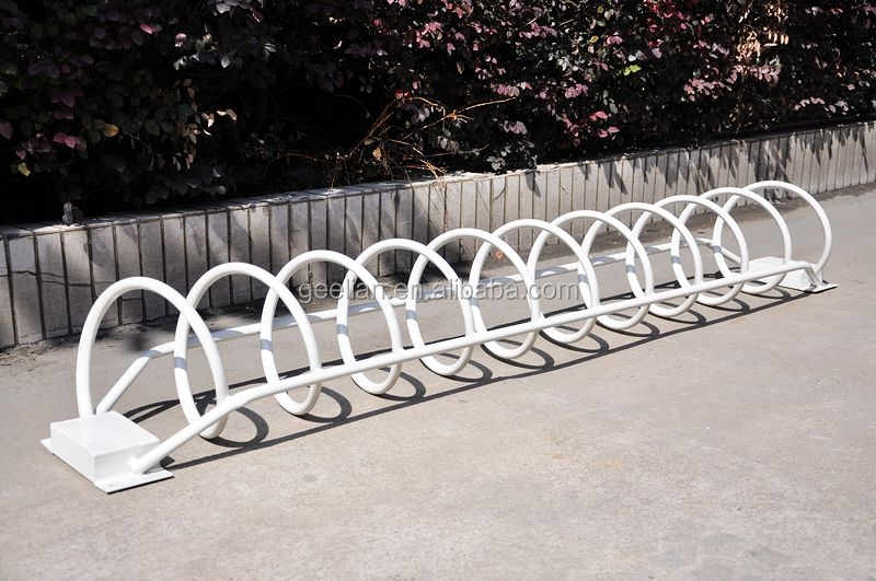 high security enhanced durable sidewalk 304 steel cycle racks bike