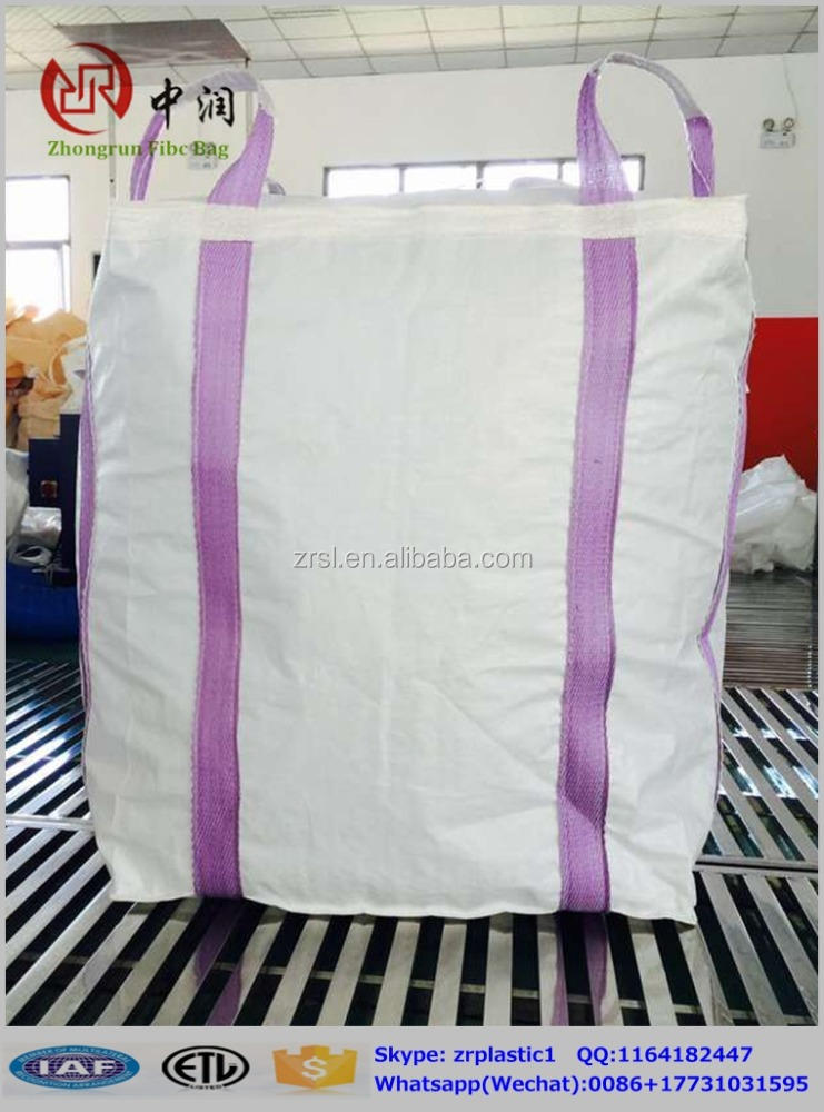 Virgin Pp Super Sacks Fibcs Pp Bulk Bag Color Printing Big Bag