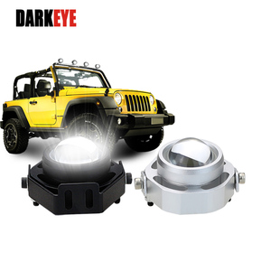 DARKEYE LED Work Light Bar 3 Modes DRL Daytime Running Light For Cars LED External SpotLights Waterproof 12V Led Car Styling