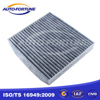 Activated charcoal cabin air filters, cabin hepa micro filter 87139-06060