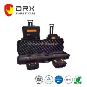 Ningbo Everest RPC3431 IP67 PP heavy duty trolley wheel Plastic hard equipment weapon case