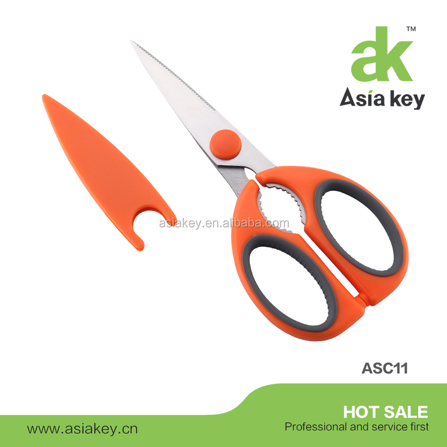 Factory Price Professional Detachable Kitchen Scissors with Safety Cover