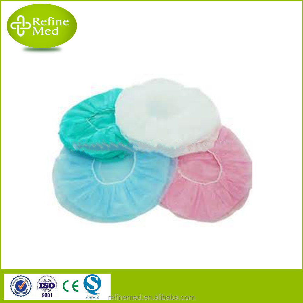Medical High Quality Disposable Non-woven Bouffant Cap