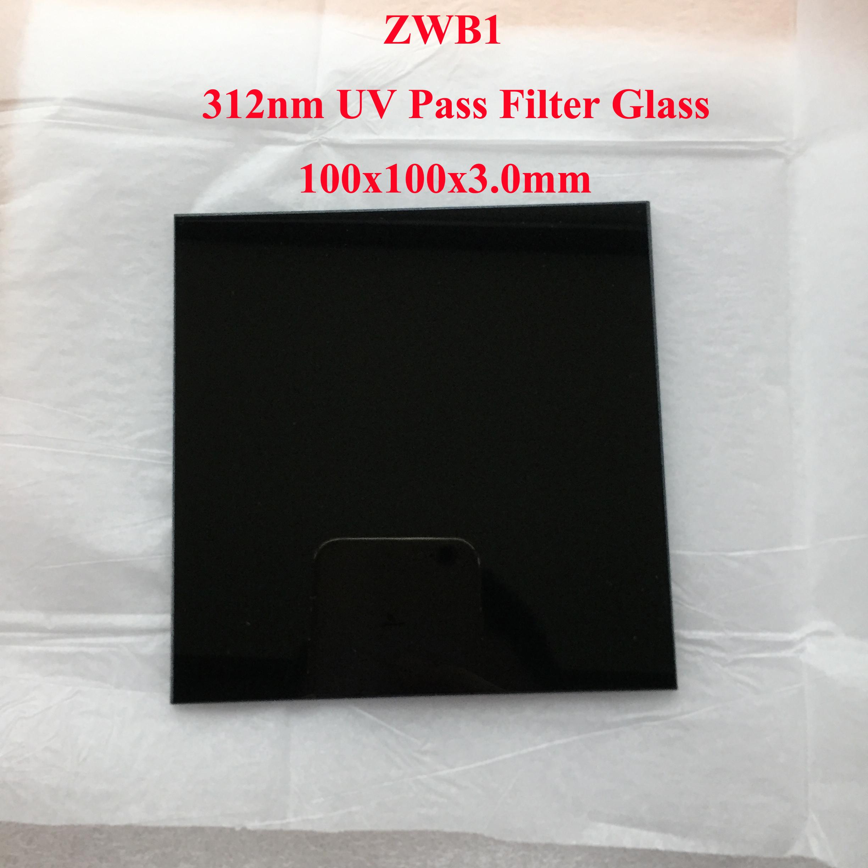 312nm 302nm UV Pass Filter ZWB1 UG11 U-340 Visible Light Cut
