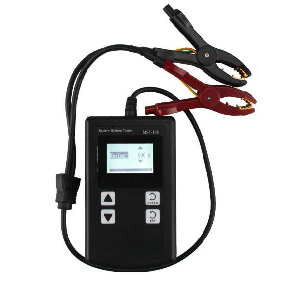 Мощный MST-168 портативный 12 В батарея цифровой анализатор MST 168 авто аккумулятор тестер заряда тестер