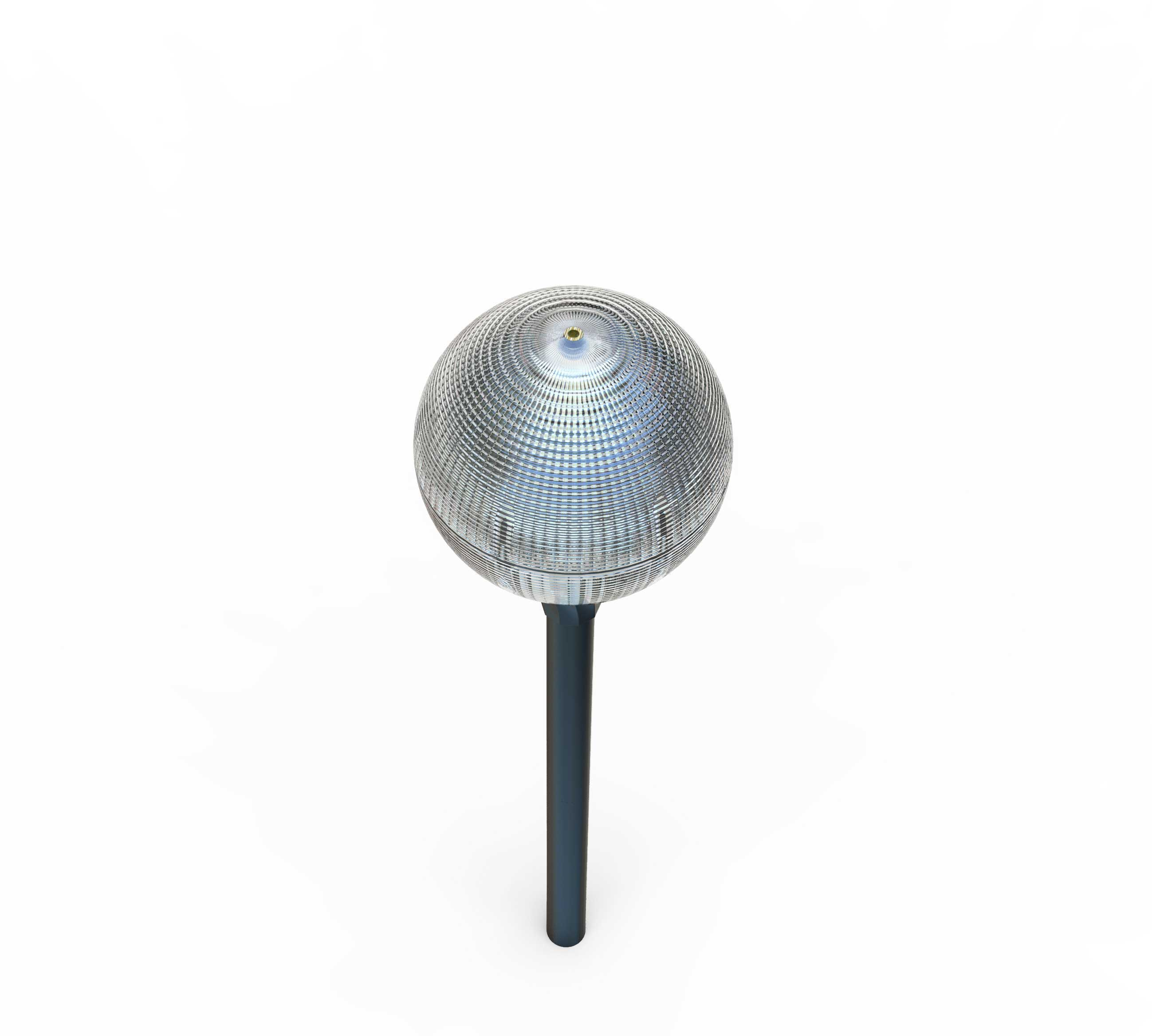 Custom logo led solar landscape light for factory use