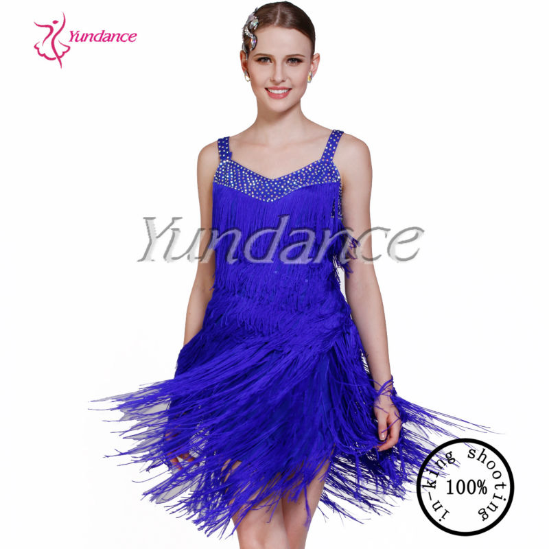 2016 Hermosa Rumba Salsa Latin Dance Trajes Ab003 - Buy Rumba Salsa ...