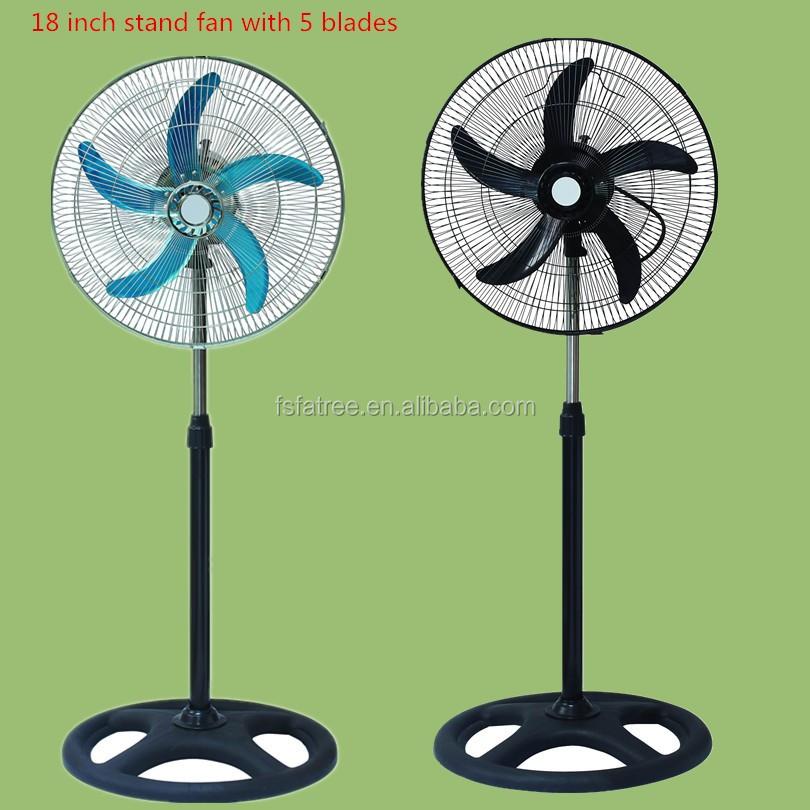 1 4 Inch Pedestal Fan : Inch in floor standing cool breeze pedestal fans