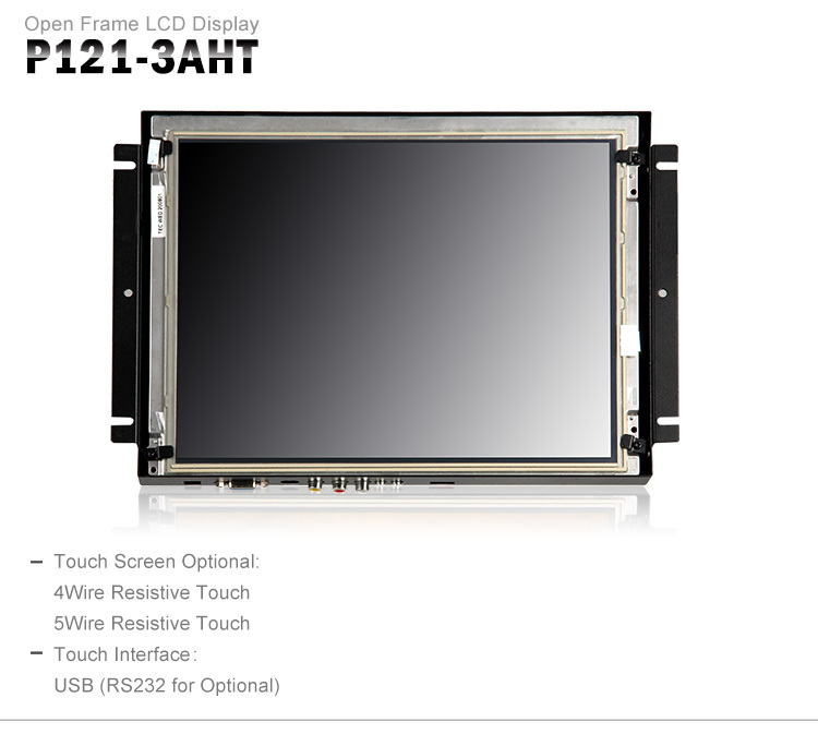 12.1 Inch Desktop Laptop Extension Display Touch Screen Led ...