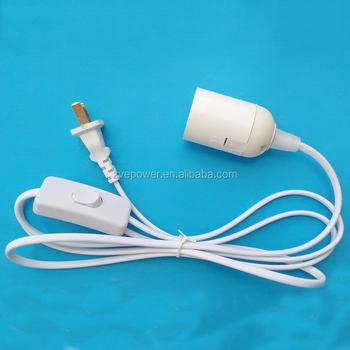 Lampe Lustre Avec Bricolage Grosse E27 Fil Ampoule Petites Connecteur Led Vis Accessoires Buy Douilles Interrupteur trCsdhQx