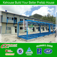The economical high quality real estate prefab buildings