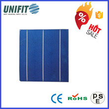 "High Quality 156x156 6"" Poly Crystalline Solar Cell With Broken Solar Cells"