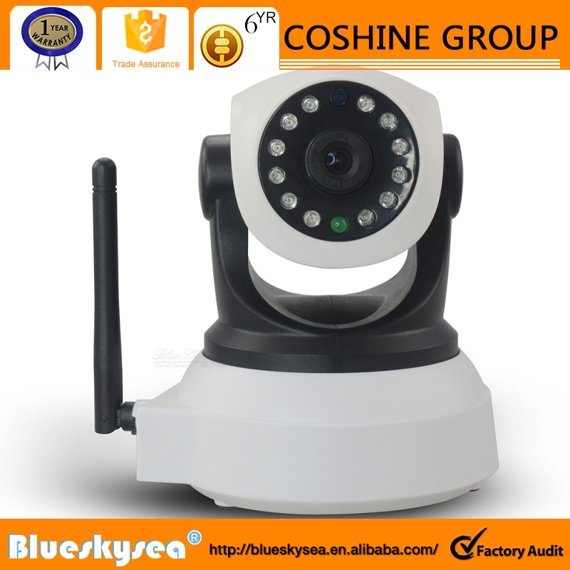 P2P HD 720p Wifi IP Baby Video Audio Camera Night IR Cut Pan Tilt Auto Cruise