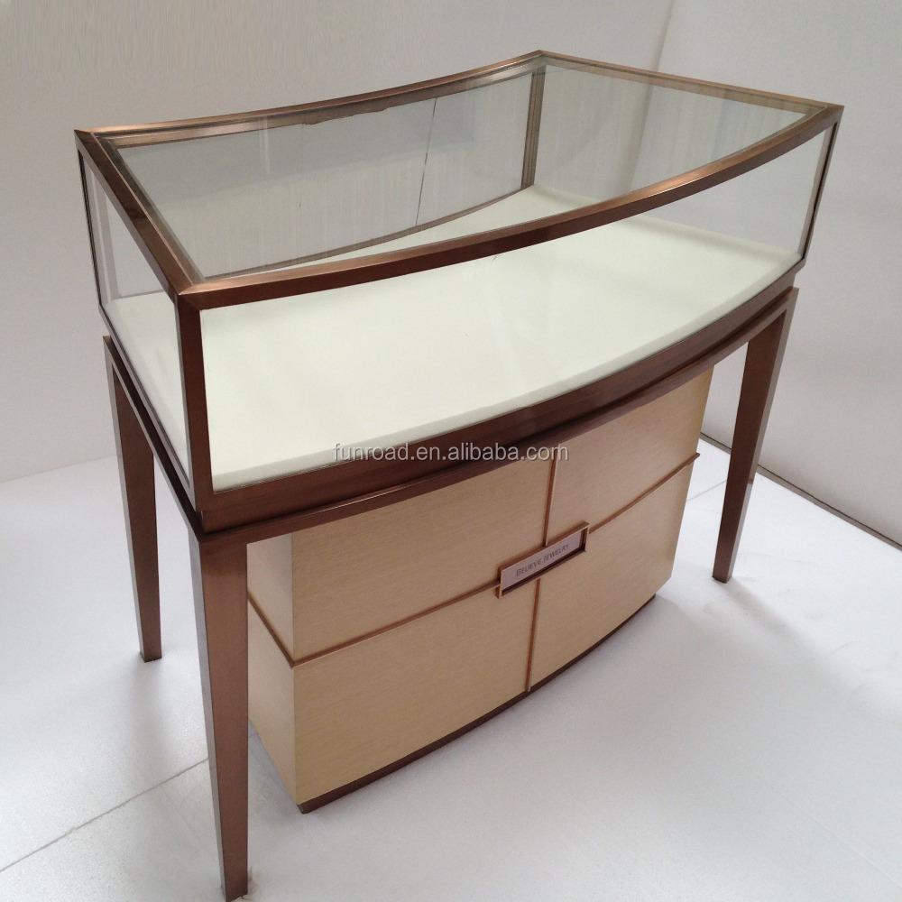Venta al por mayor vitrina muebles de roble-Compre online los ...