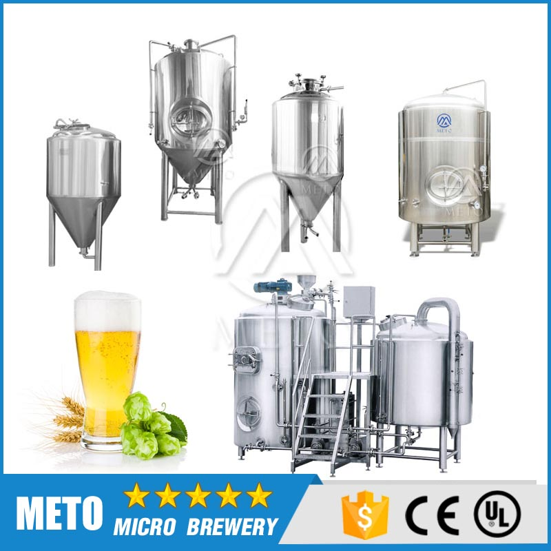 small/micro/mini restaurant draft beer brewery equipment for beer brewing supply