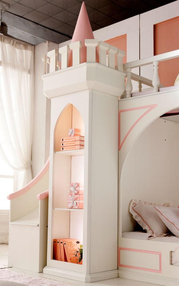 Ultimo disegno royal piccolo castello principessa mobili camera da letto a castello per bambini - Letto principessa ...