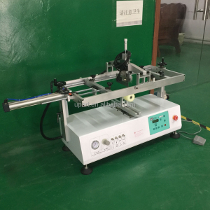 semi automatic grade small tabletop germany screen printing machine for bottles