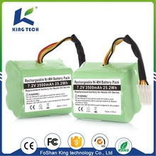 7.2v rechargeable ni-mh power tool battery pack for vacuum cleaner