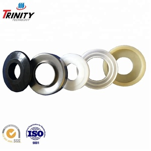 High precision shaft/labyrinth seal for roller bearing