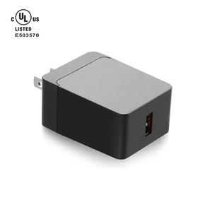 UL Certified Qualcomm Quick Charge 3.0 wall charger QC3.0 fast charge adapter for Samsung